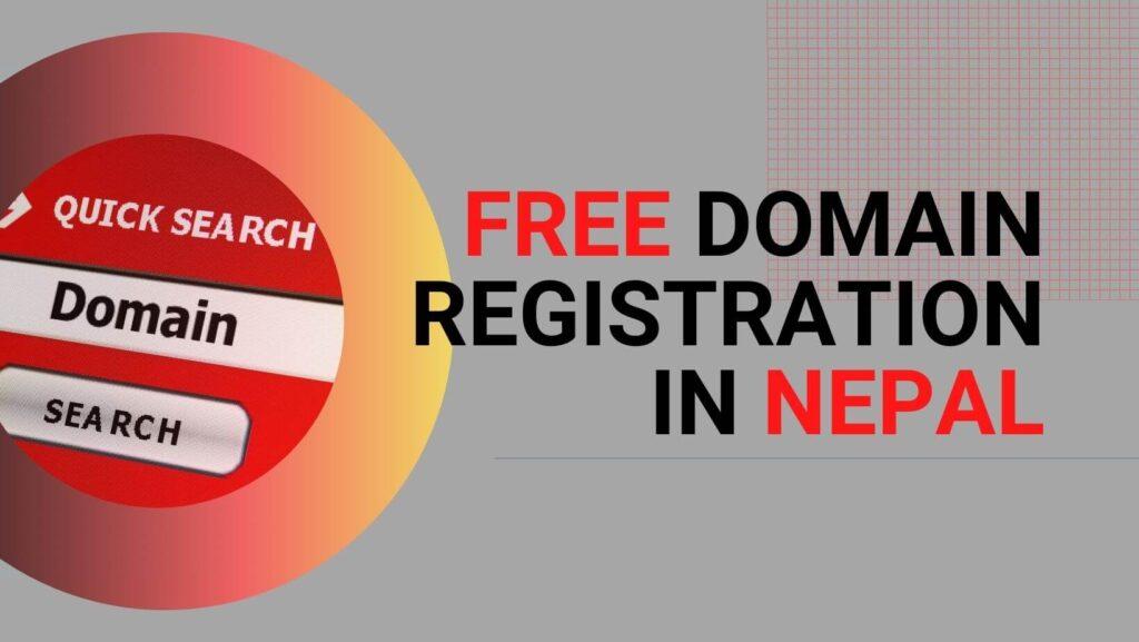 free domain registration in nepal