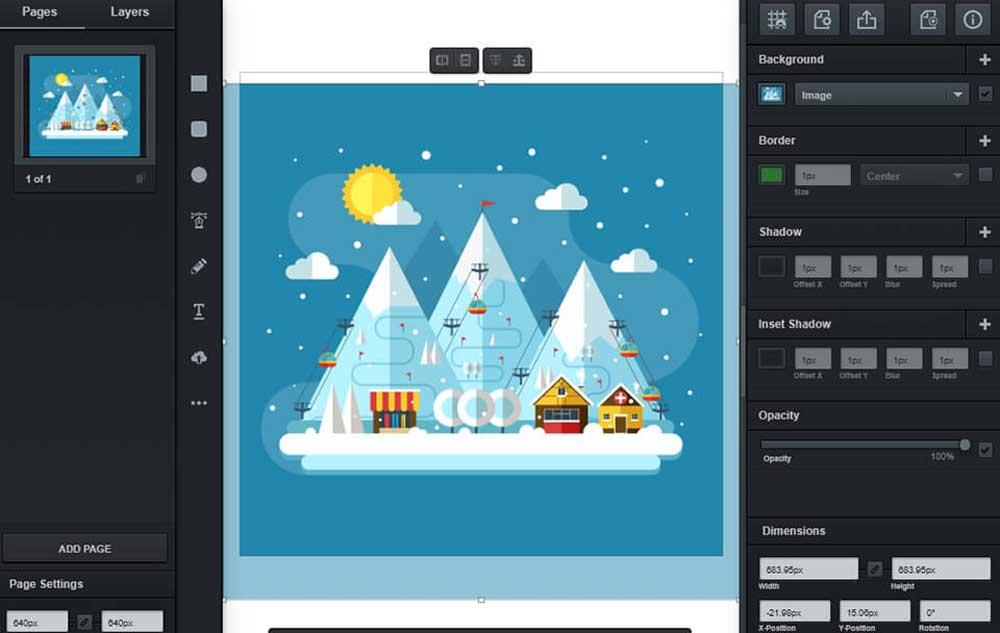 Best Graphic design software for beginners- vectr